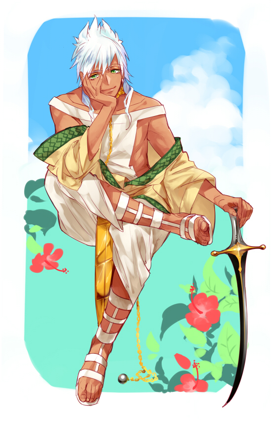 MAGI-sword master by siruphial