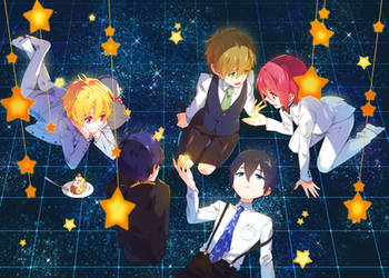 free - star night by siruphial