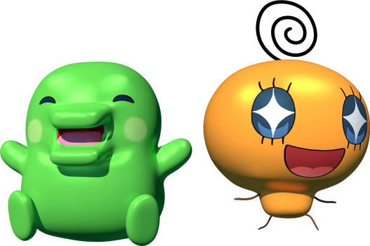 Kuchipatchi and Memetchi