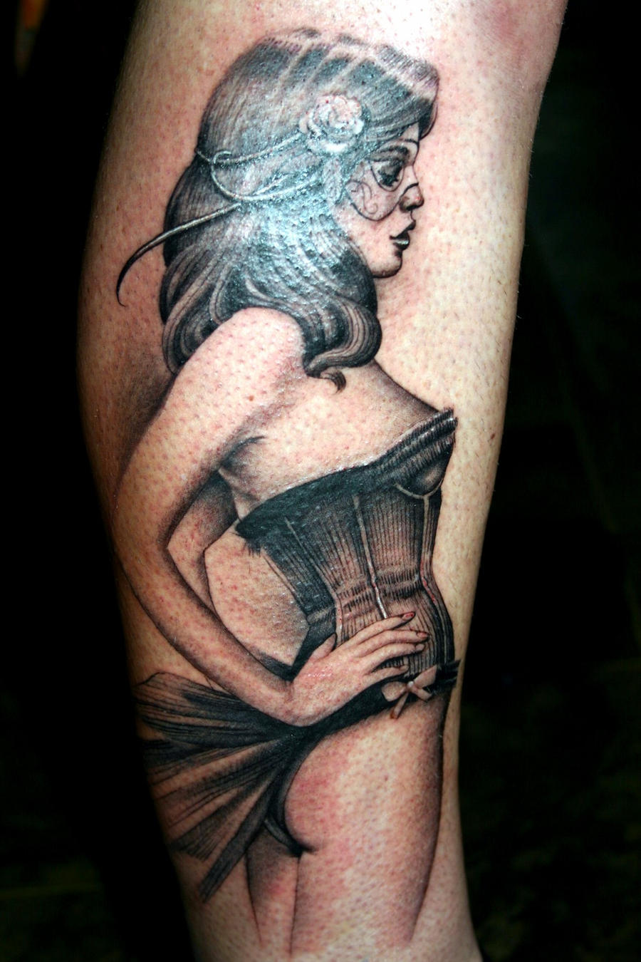 Pinup Tattoo By Mpdesign On Deviantart