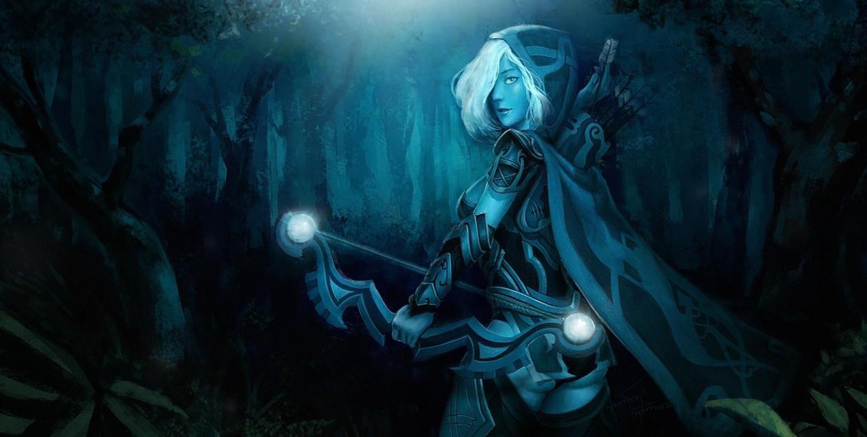 Drow Ranger Dota 2 Immortals: Fan Art : Drow Ranger Dota2 By Freppechoco On DeviantArt