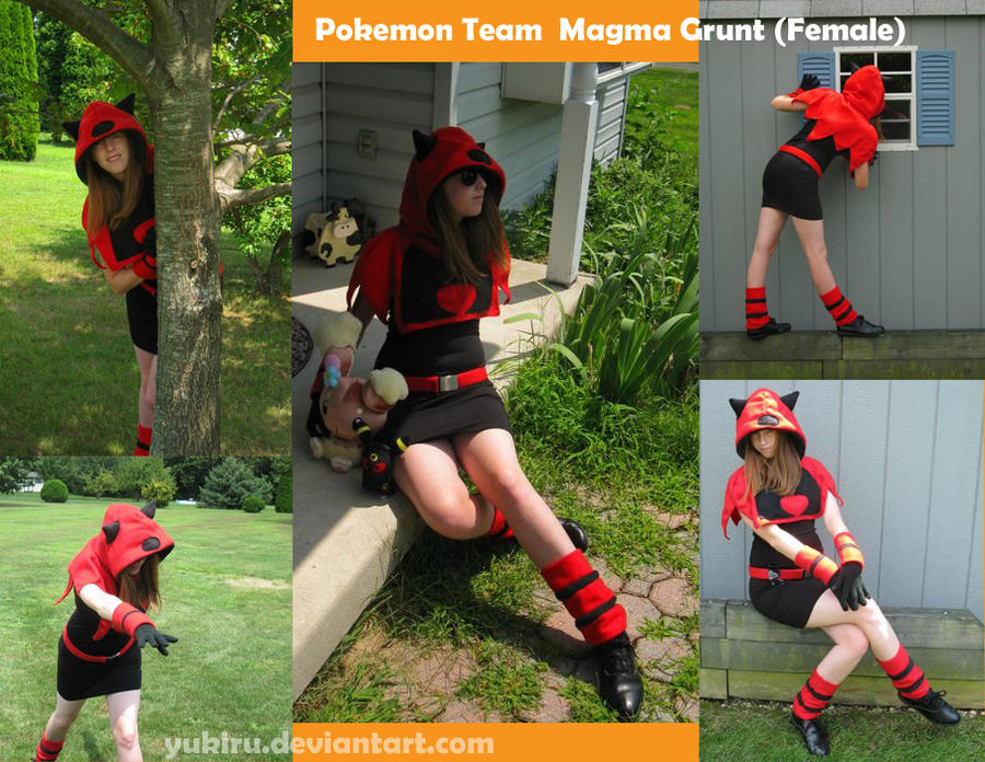 Team Magma Grunt -Female- by Yukiru