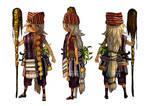 Character Design: Bataknese Shaman