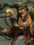 Alvin , The Fanciful Bard Wanderer
