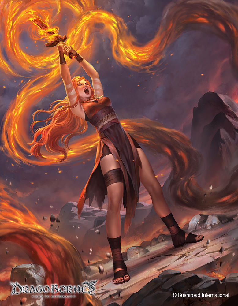Dragoborne : Explosive Counter by IndahAlditha
