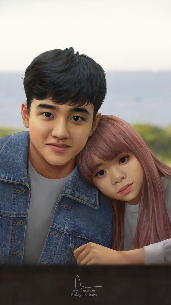 Commission : Do Kyung Soo and Dephyta by IndahAlditha