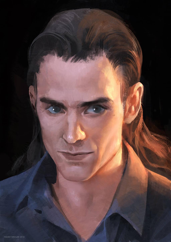Loki Laufeyson by IndahAlditha