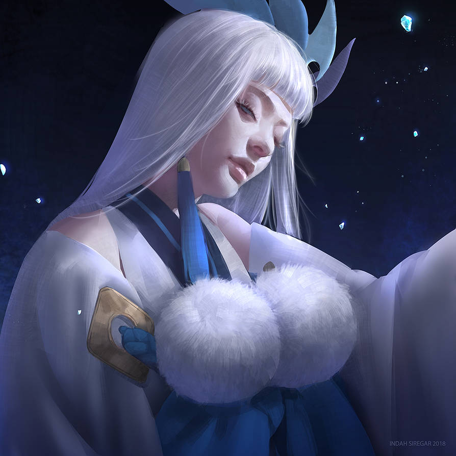 Yuki Onna - Onmyoji by IndahAlditha