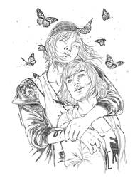 Commission : Max and Chloe, Life is Strange