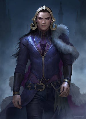 Lucious Vess : Liliana Vess Genderbend by IndahAlditha