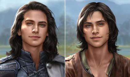 Commission : Luka and Kiernan