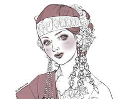 Batak Toba Bride