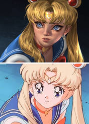 Sailormoon Screencap Challenge