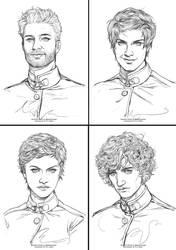 Commission : Headshot Sketch