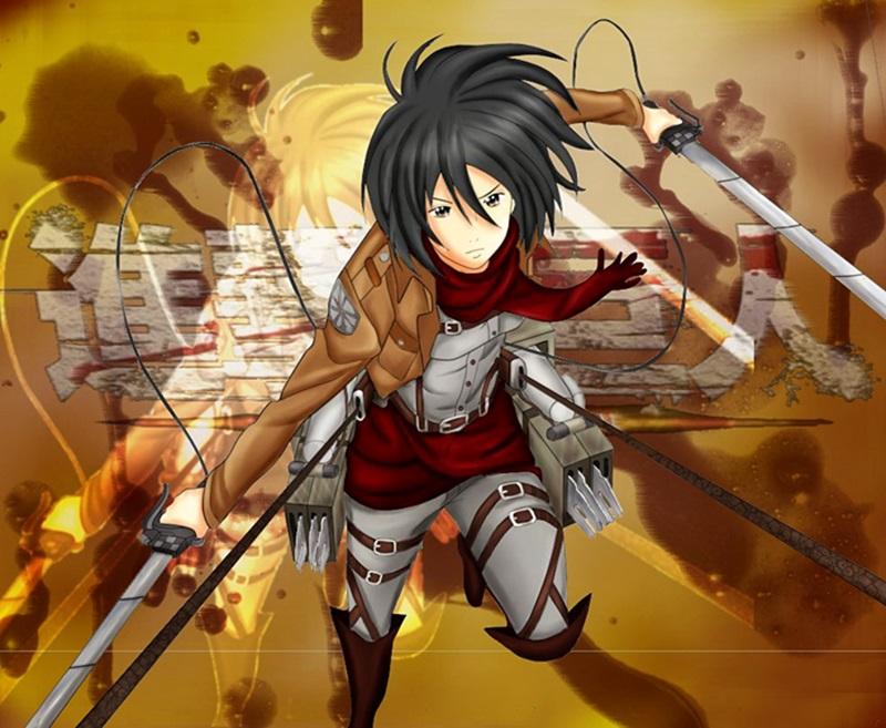 Mikasa - Attack on Titan (+Speedpaint)