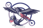 Swellow Crossbreed by Skallhati