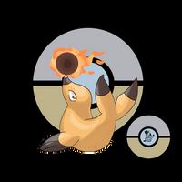 Bomushika (Beta Pokemon) by Skallhati