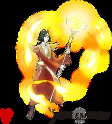 FireEmblemXPokemon Linhardt (Fire-type)