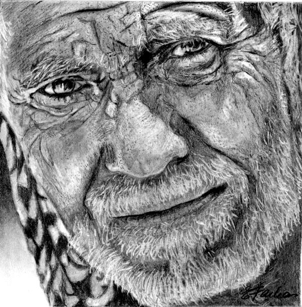 Old Iraqi Man by Erika-Farkas