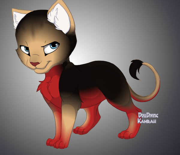 Spike cat by vampchick4