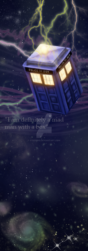 I am definitely a mad man with a box by SynxEnq