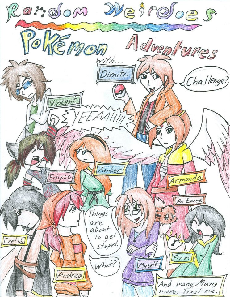 Pokemon Comic Cover by fennecthefox15
