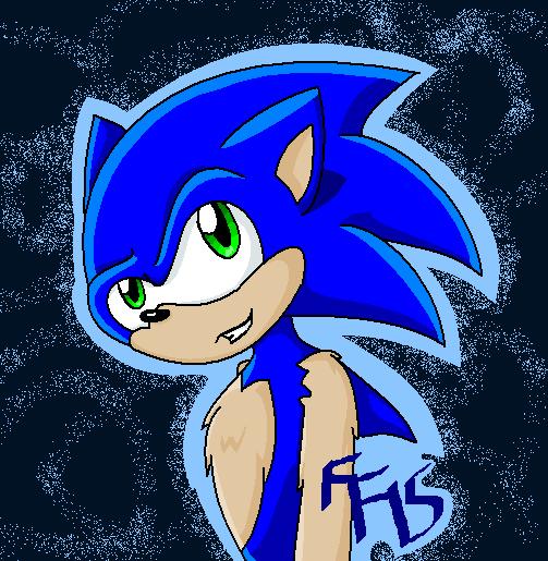 Sonic by fennecthefox15