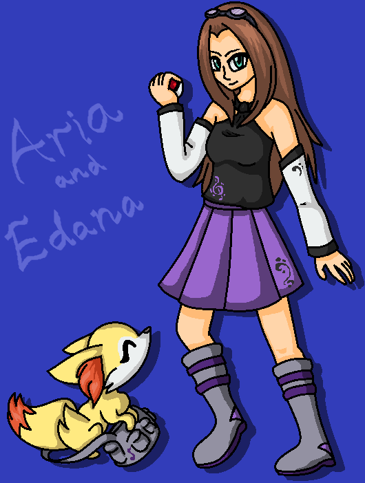 Aria and Edana by fennecthefox15