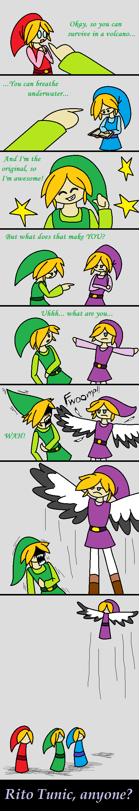 Violet Link by fennecthefox15