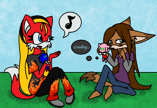Roleplaying by fennecthefox15