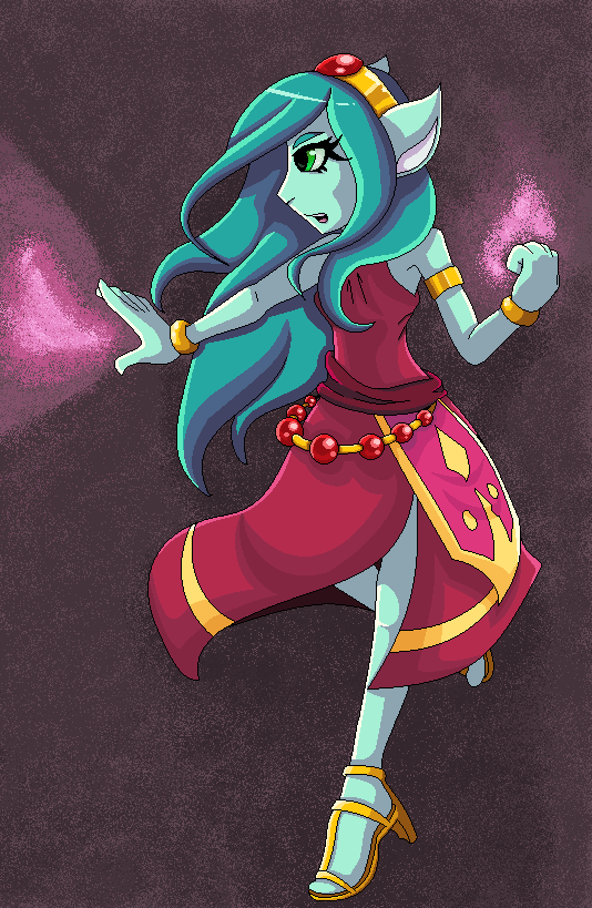 Magical Mage Princess by fennecthefox15