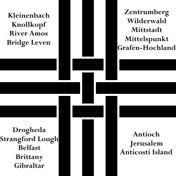 Reverse of Militia Reg. Nr. I Regimental Colors by TheAnonymooseTmas