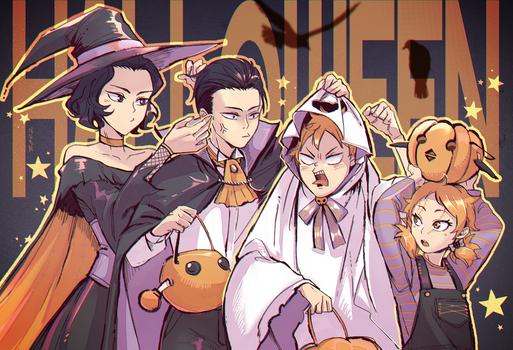 HQ/Sibling Halloween