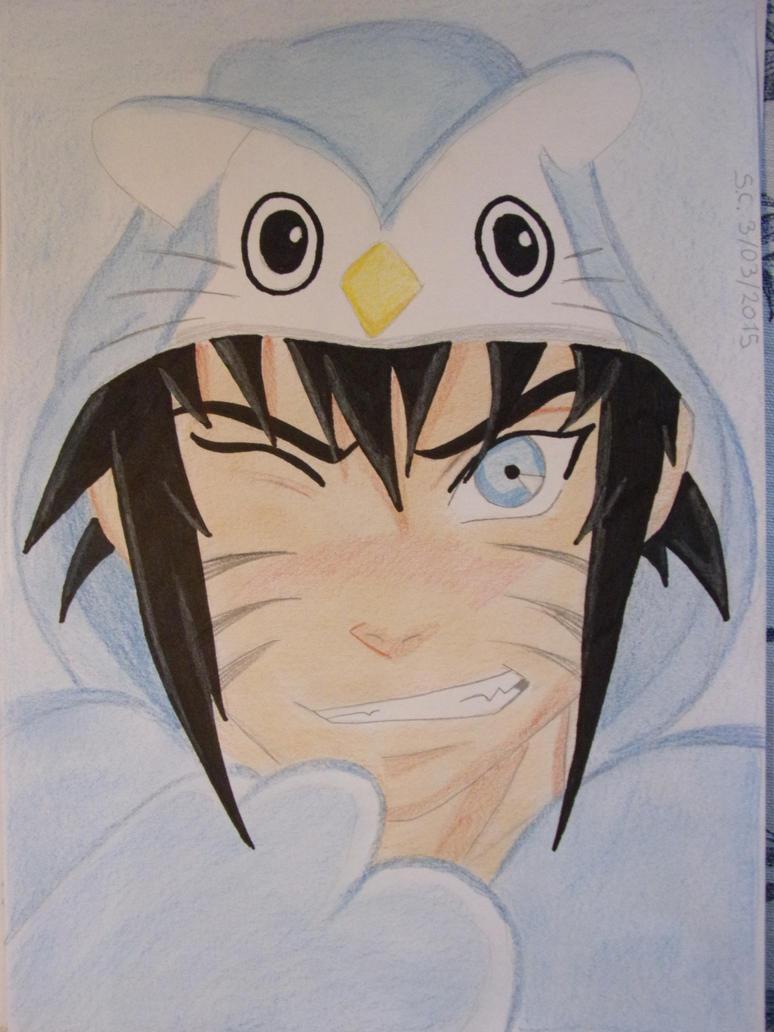owl onesie menma by teazuko