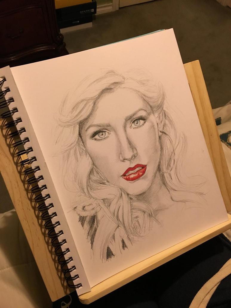 Christina Aguilera by PensiveGiraffe