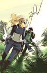 Mockingbird and Hawkeye Pierce