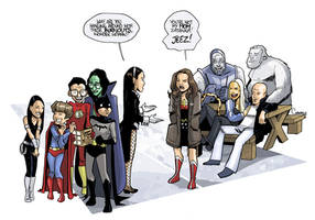 Super Freaks and Geeks by caanantheartboy