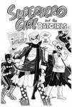 Superhero Girl + Batgirls