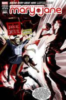Mary Jane vs Mephisto by caanantheartboy