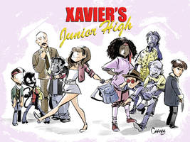 Xavier's Junior High by caanantheartboy