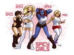 Spicy Comic Girls