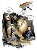 The Lion The Witch and the Pack by caanantheartboy