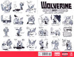 Wolverine 01 Sketch Cover