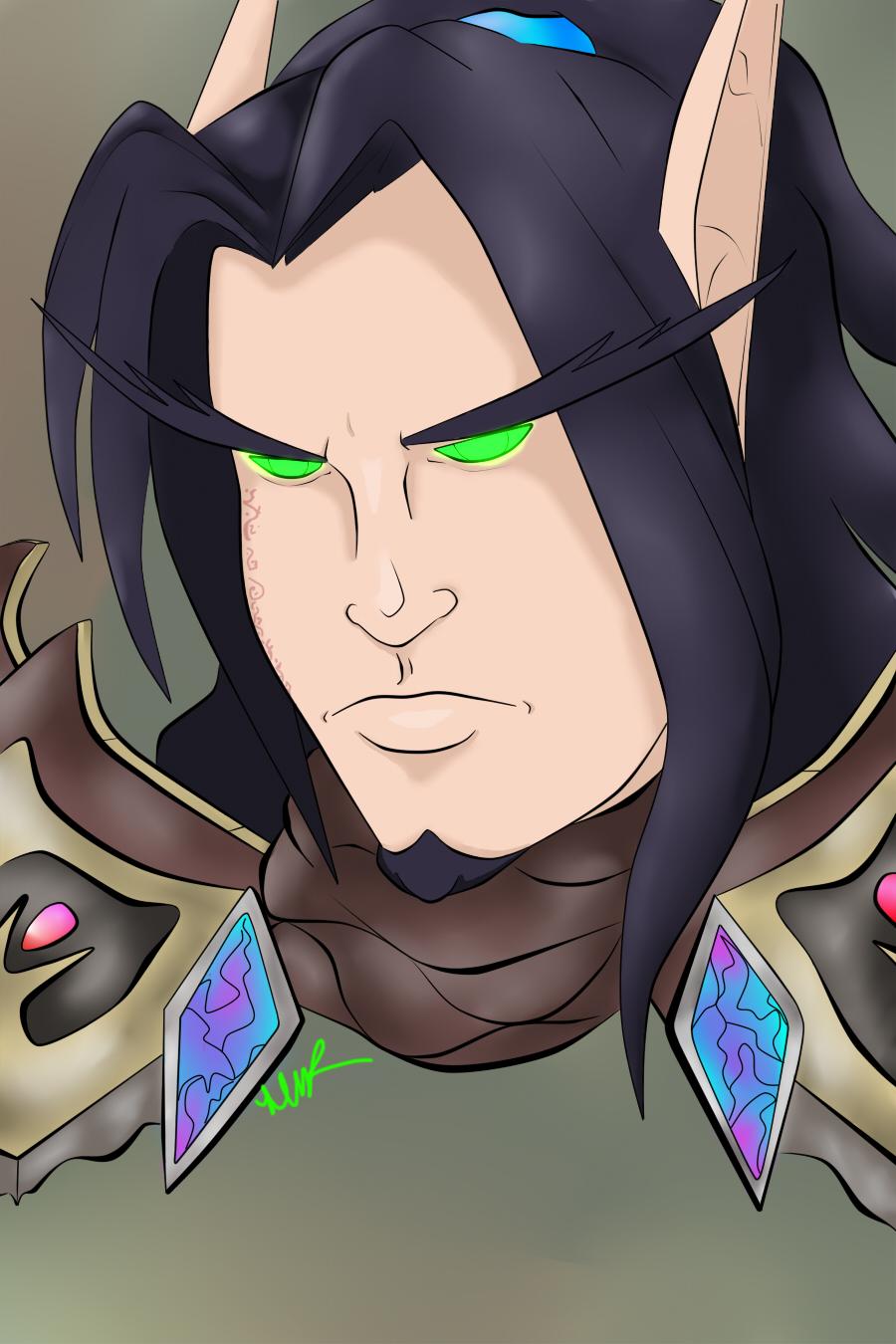 Keth'Aelsar Brightfall by Musing-Zero