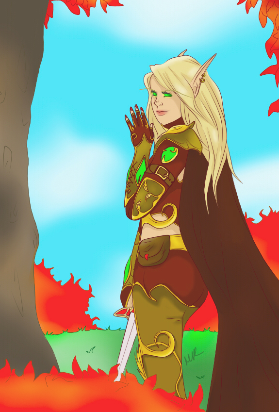 Update: At Home in Quel'Thalas by Musing-Zero