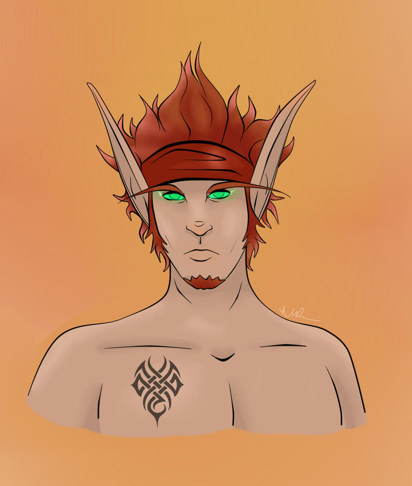 Commission: Velothus Fireheart by Musing-Zero