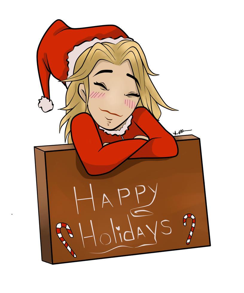 Happy Holidays by Musing-Zero