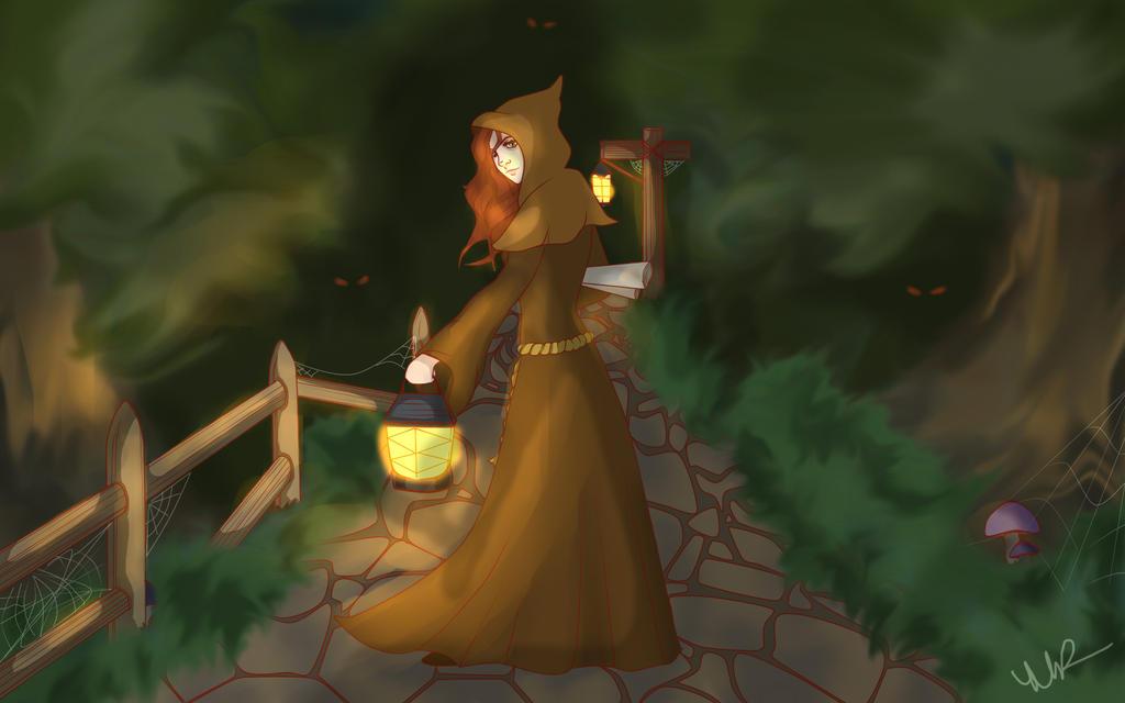 Duskwood Priestess by Musing-Zero