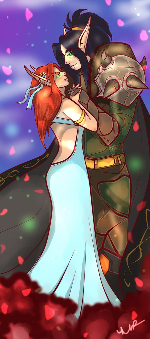 Iria and Nola by Musing-Zero