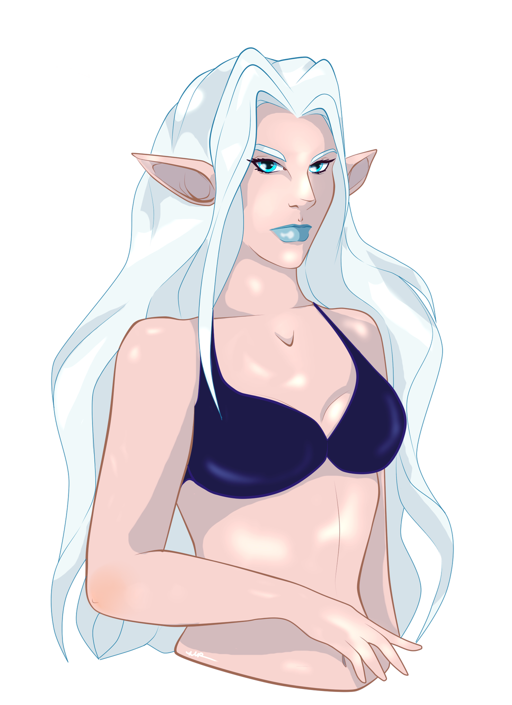 Lady Iceheart/Ysayle by Musing-Zero
